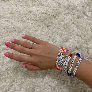 Super cute candy bracelet set❤️